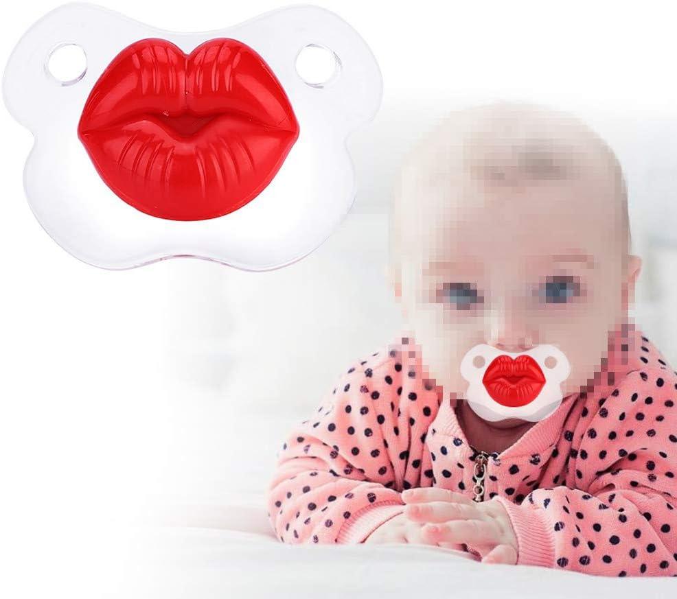 Bebé Chupete Chupete Ortodoncia Grado Alimenticio Lindo Simulado Gracioso Cerdo Nariz Silicona Enfermera Pezón Mordedor Regalo Para Bebés Recién Nacidos, Libre De BPA(#1)