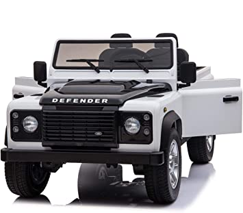 Amazon Com Kids Vip Newest 2 Seats Land Rover Defender 2x12v Ride