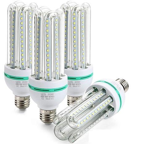 Letour Led Bulbs Corn Light 20w 1150 Lumen 60leds Daylight 6500