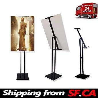 Amazon.com: 1 paquete, soporte de póster con pedestal de pie ...