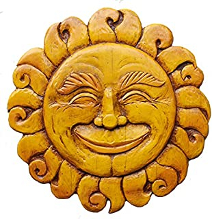 product image for Piazza Pisano Sun Face Plaque Wall Art Celestial Wall Decor- Large Size