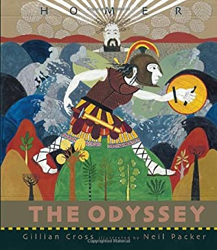 book cover of The Odyssey