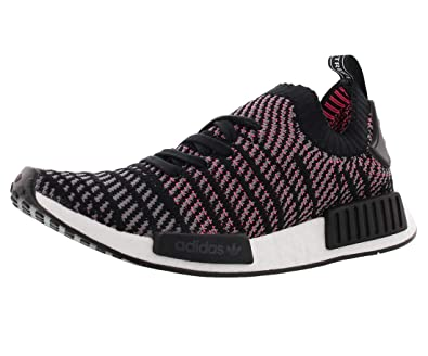 f76b9b18fd37 Image Unavailable. Image not available for. Color  adidas Men s NMD-R1 STLT  Primeknit Originals Running Shoe 12 Black