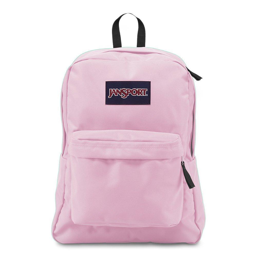 JanSport Superbreak Backpack - Lightweight School Pack, Pink Mist by JanSport