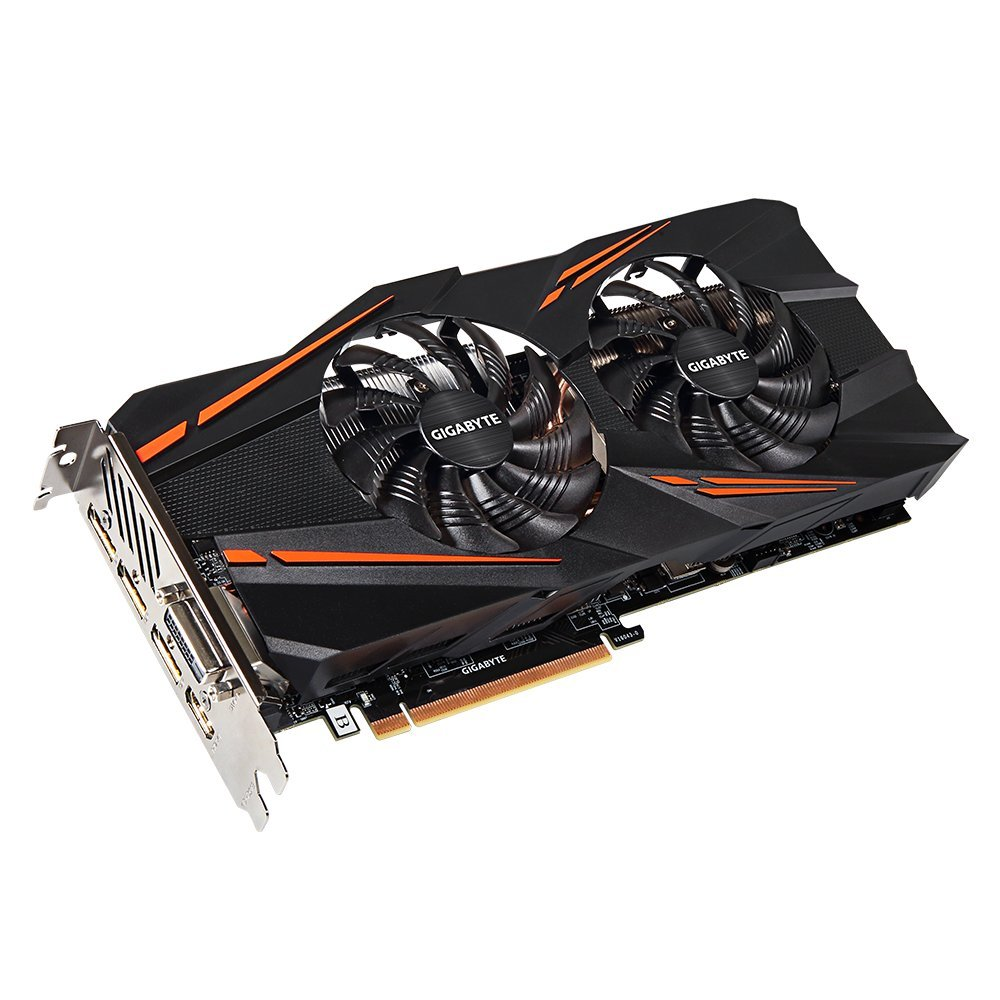 Gigabyte GeForce GTX 1070 WINDFORCE OC Video/Graphics Cards (GV-N1070WF2OC-8GD)