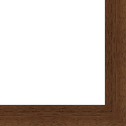 Amazon.com: Flat Dark Brown Wood Frame - \