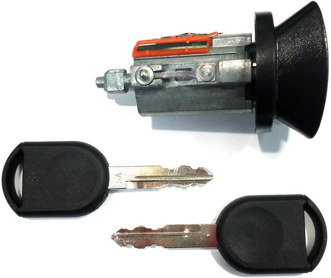 Ford OEM Ignition Key Switch Lock Cylinder /& Single Door Lock Set 3 Regular Keys