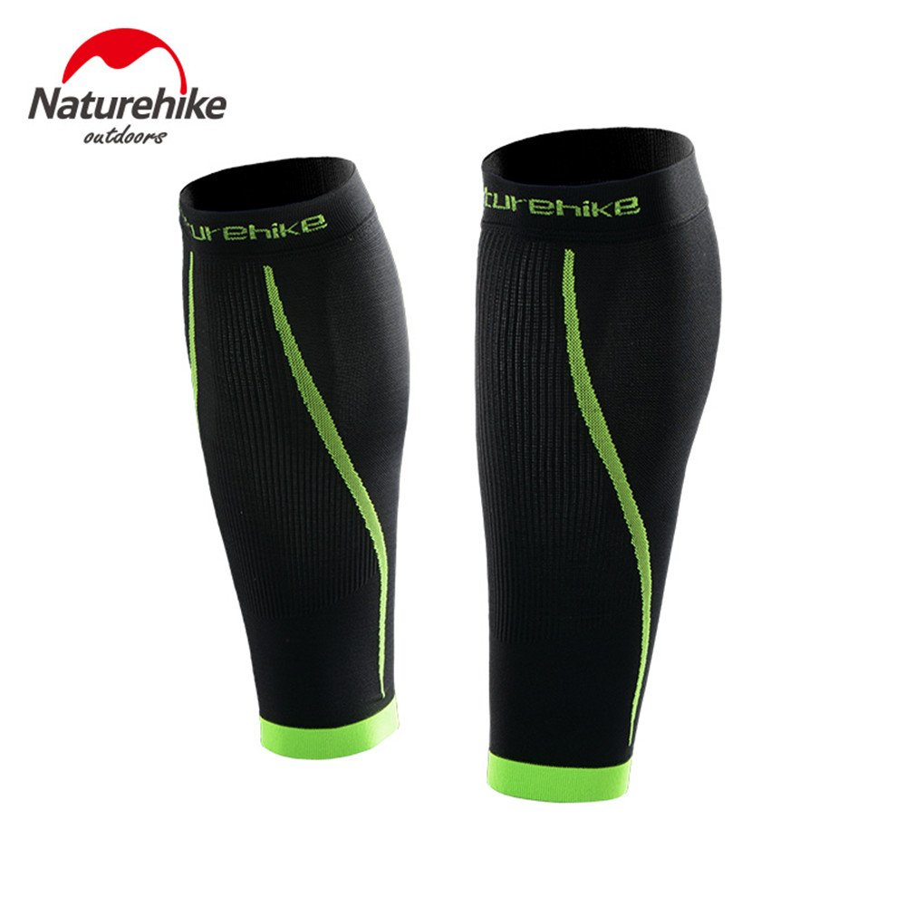 Amazon.com : NatureHike 1 Pair Basketball Football Leg Shin Guards Soccer Protective Calf Sleeves Cycling Fitness Calcetines Compresion : Sports & Outdoors