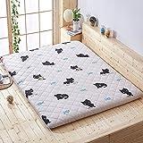 HYXL Tatami folding floor mattress Mat,Japanese futon mattress Futon tatami mat With chemical-free anti-mite fabric For home dorm-J 90x200cm(35x79inch)
