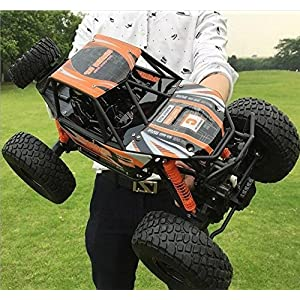 LightInTheBox 18.8' Large Size RC Car/ Rock Crawlers 1:10 Scale MZ 2837 Rock Climbing Car High Speed Vehicle 4x4 Bigfoot Monster Truck 4 Ch/2.4G Rock Climbing Car Brushless Electric Kids Suprise Gift