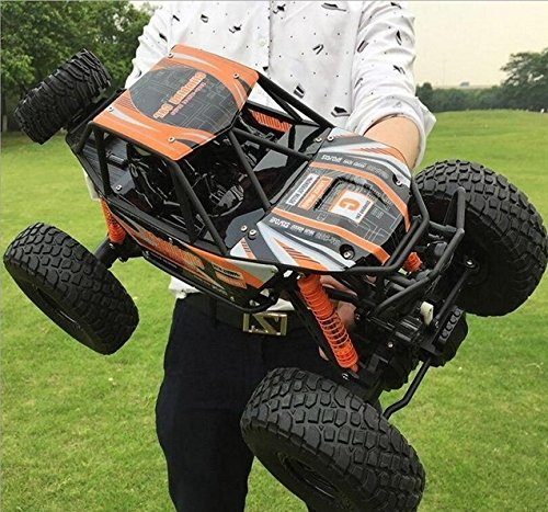 LightInTheBox 18.8' Large Size RC Car/ 4WD Rock Crawlers 1:10 Scale MZ 2837 Rock Climbing Car Vehicle Monster Truck 4 Ch/2.4G Rock Climbing Car Brushless Electric Kids Suprise ()