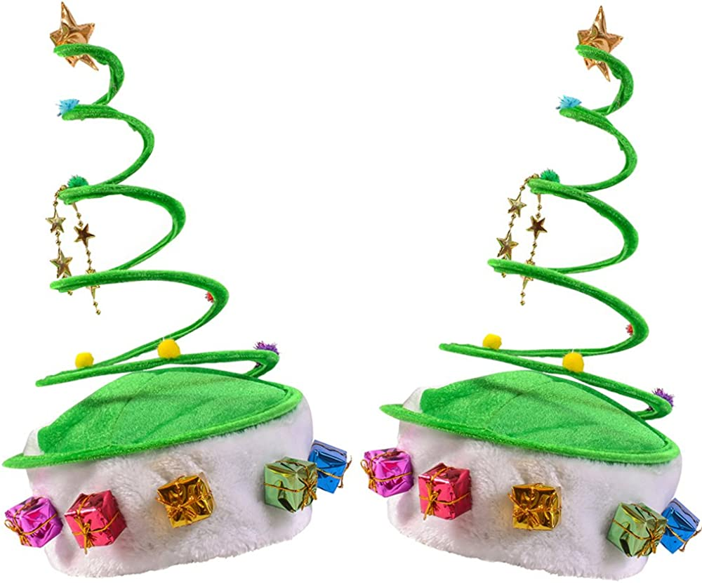 Christmas Plush Santa Hat Faux Fur for Adult or Teen Holiday Party Gift US Stock