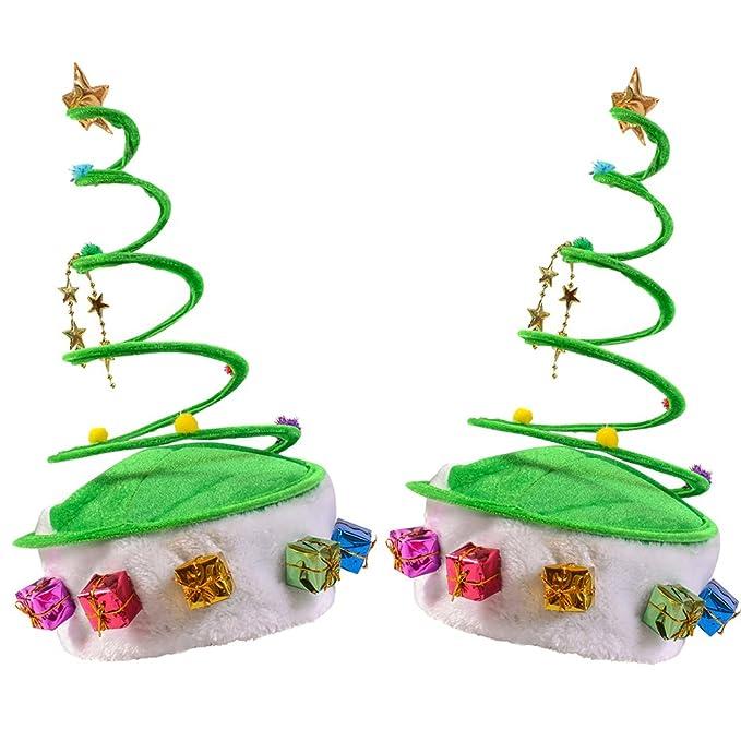 Funny Party Hats Christmas Hat - Santa Hat- Elf Hat - Reindeer Hat - Coil f0e87b53d491