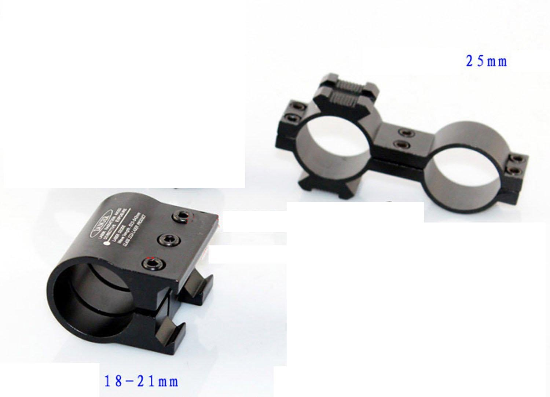 Mira telesc/ópica de airsoft color negro bolsillo, 50 x 12, iluminada, resistente al agua Barska 3-12x50 30//30 IR Huntmaster