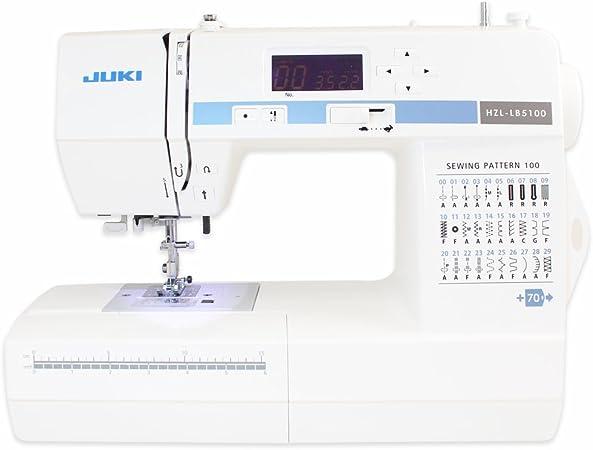 Juki HZL-LB5100 - Máquina de coser computarizada: Amazon.es: Hogar