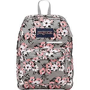 JANSPORT DIGIBREAK CORAL SPARKLE PRETTY POSEY (JS00T50F0JB)