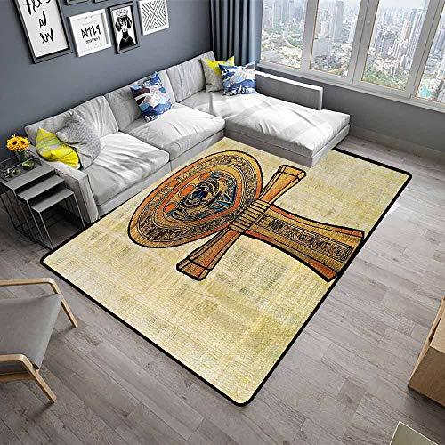 Egyptian,Home Bedroom Floor Mats 48