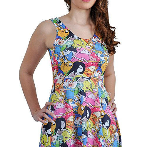 Robe Adventure Time Finn Jake & Friends - L