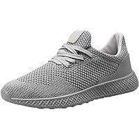 Chaussures de Fitness Homme, Manadlian Baskets Basses de Respirant Couleur Unie Mode Sneakers Sport Shoes