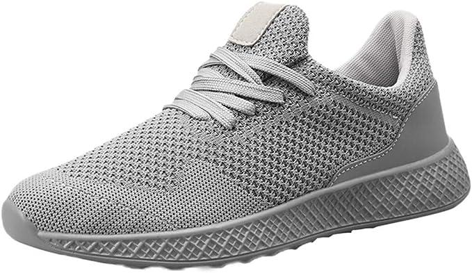 Zapatillas de Running para Hombre,JiaMeng Zapatillas Deporte ...