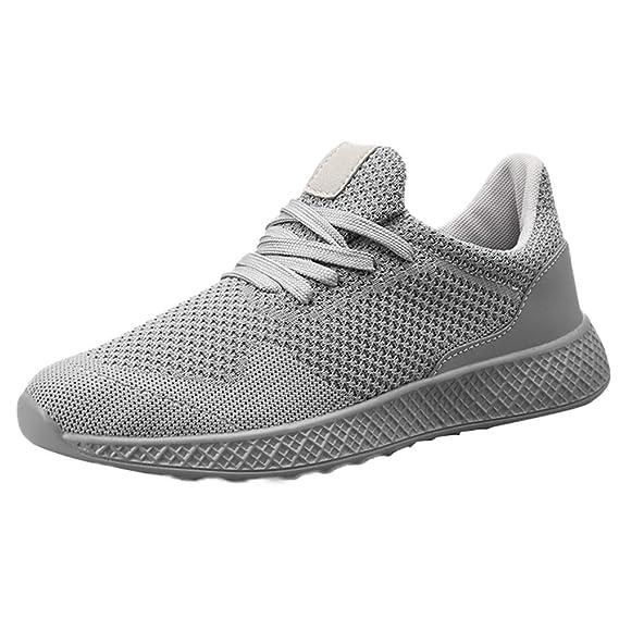 Zapatillas Running para Hombre ZARLLE Zapatillas de Deporte Gimnasio Running Casual Zapatos Sneakers para Hombre Mujer Unisex: Amazon.es: Ropa y accesorios