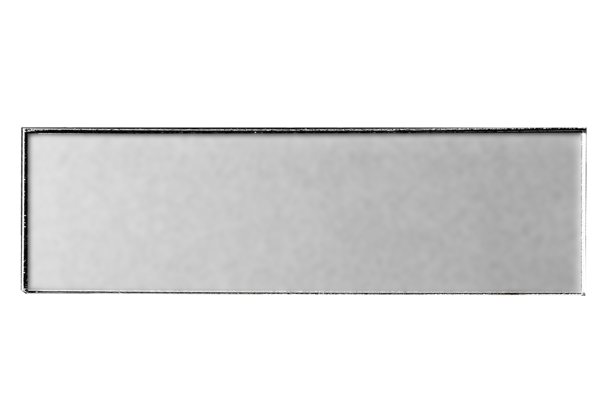 Abolos AMZFOM0312-ES Matte Glass Subway Tile Kitchen Bathroom Backsplash Home, 3'' W x L, 5 sq. ft, Bronze, 20 Piece 3'' W x L, 5, 3'' W x 12'' L, Silver