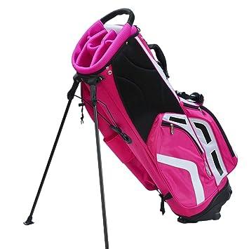 Bolsa de Golf Club Bolsa con Soporte Soporte Estable Gran ...
