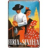 Seville Easter Fair - Fiesta Andalusia (Andalucia) Metal Poster ...