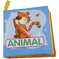 Imported Colorful Baby Kids Cloth Cognize Book- Animal