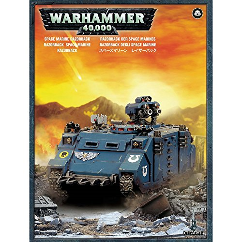 Games Workshop 99120101227 ''Space Marine Razorback Game