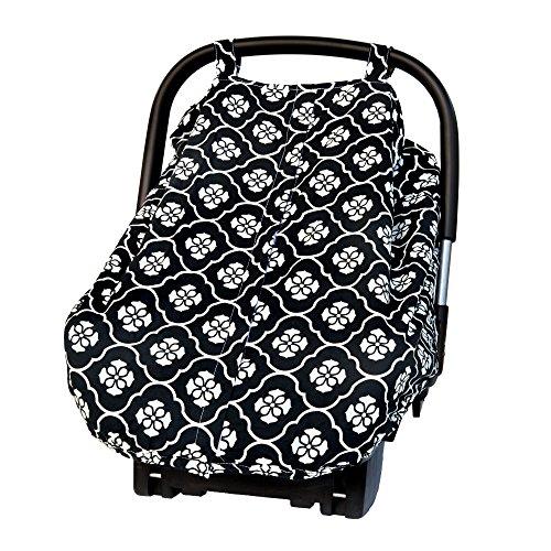 Cole Seat Canopy Black Floret