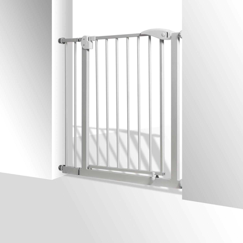 KIDIZ® Türschutzgitter Absperrgitter Gitter Treppengitter