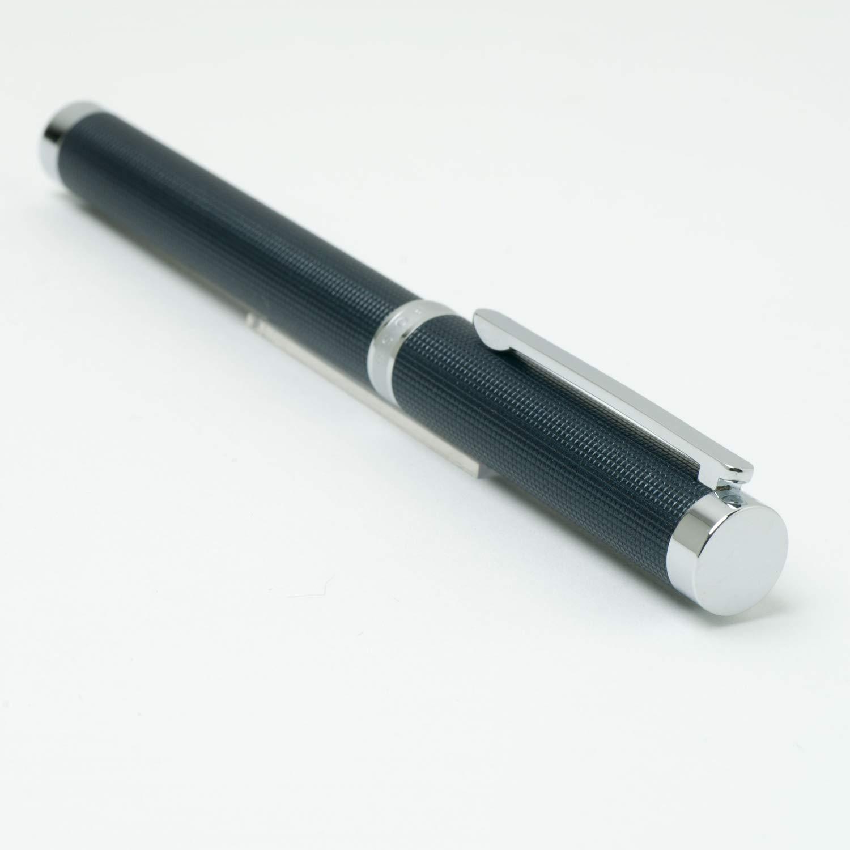 Hugo Boss HSW7885N Column Rollerball Pen - Black/Silver by BOSS (Image #6)
