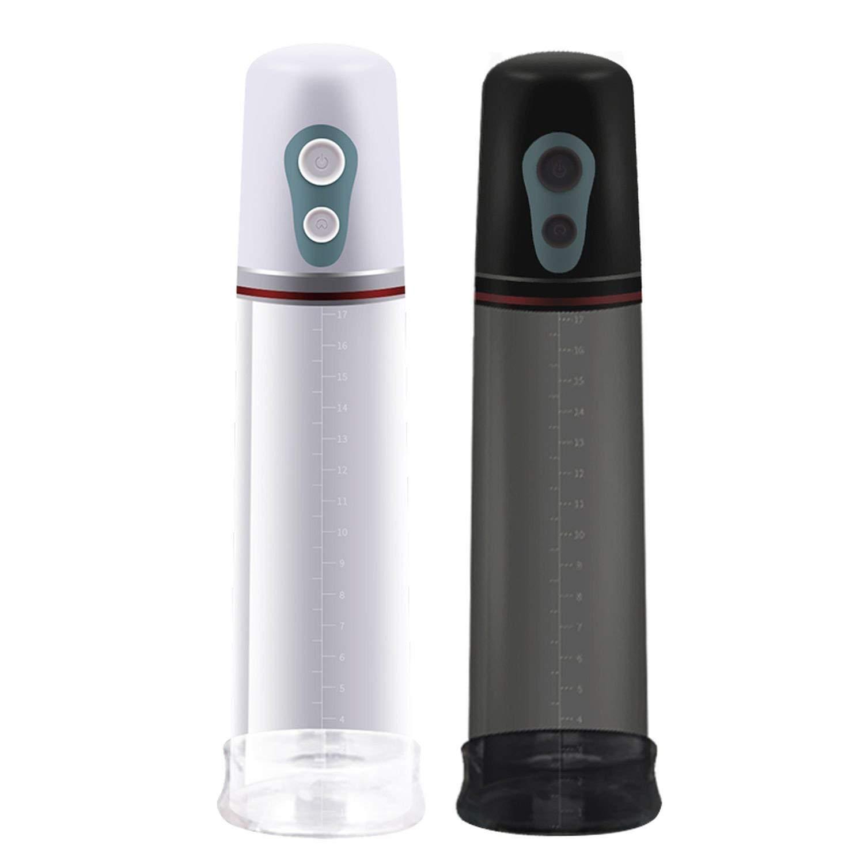 QGHFE SHIRT Automatic P`ênís En-largement for Men Electric P`ênísPump Male Penile Ex-tend Training Sexz Shop for,White
