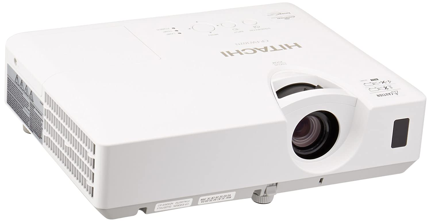 Amazon.com : Hitachi CP-EW302N LCD Projector - 720p - HDTV - 16:10 : Electronics