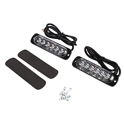 improvedwiring device for controlling the emergency lights 20 12amazon com 6 led emergency warning light 12v flashing warning rh amazon com