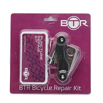 BTR Kit de reparación de pinchazos para Bicicletas 6 Parches ...