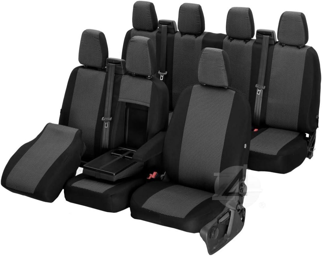 Passgenaue Sitzbezüge Hero Ideal Angepasst 7 Sitzer Fahrzeugspezifisch Polstermaterial 4d Z4l Dv Ft7m 14 67 Auto