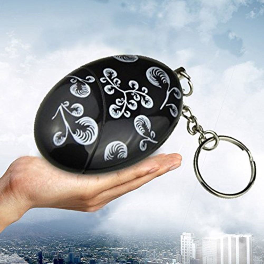 5Pack Personal Alarm - Siren Song - Emergency Personal Alarm Keychain Safety Panic Alarm Safesound Self Defense Personal Alarms for Women Kids Elderly Men