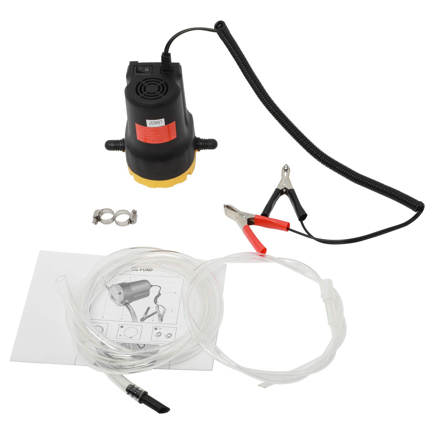 HYDDNice 12V 60W Oil Change Pump Extractor Diesel Extractor Scavenge Suction Transfer Pump for Truck RV Boat ATV