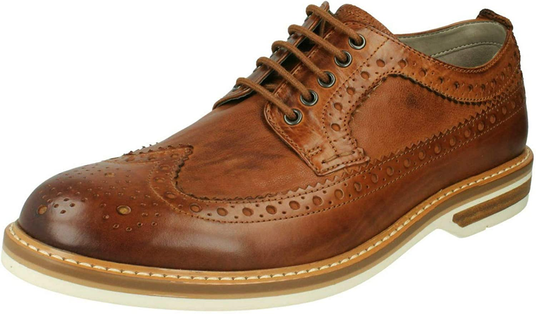 TALLA 41.5 EU. Clarks Pitney Limit, Zapatos de Cordones Oxford para Hombre