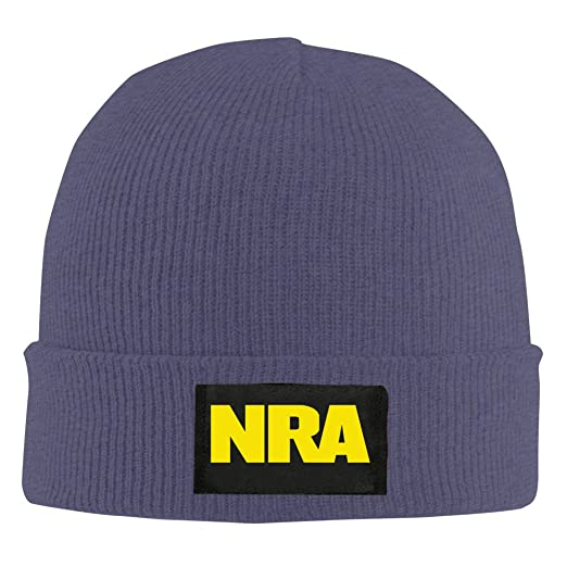 9a966223d81 NRA National Rifle Association Beanie Hat Snapback Men And Women Winter Cap  Navy