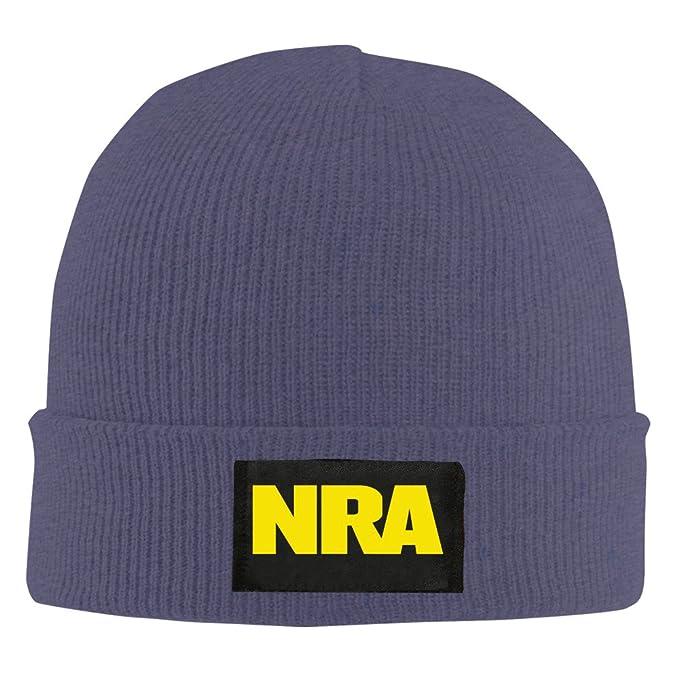 a13c64d948e NRA National Rifle Association Beanie Hat Snapback Men And Women Winter Cap  Navy