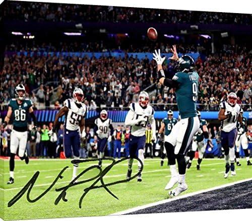 Canvas Wall Art: Nick Foles Touchdown Catch Autograph Replica Print