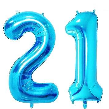 Amazon.com: AZOWA 40 en grande dulce 16 Mylar globos jumbo ...
