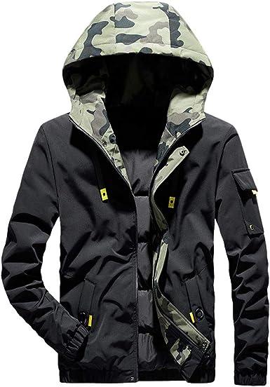yibiyuan Mens Casual Winter Outwear Thicken Warm Parka Fleece Lined Coat Hood