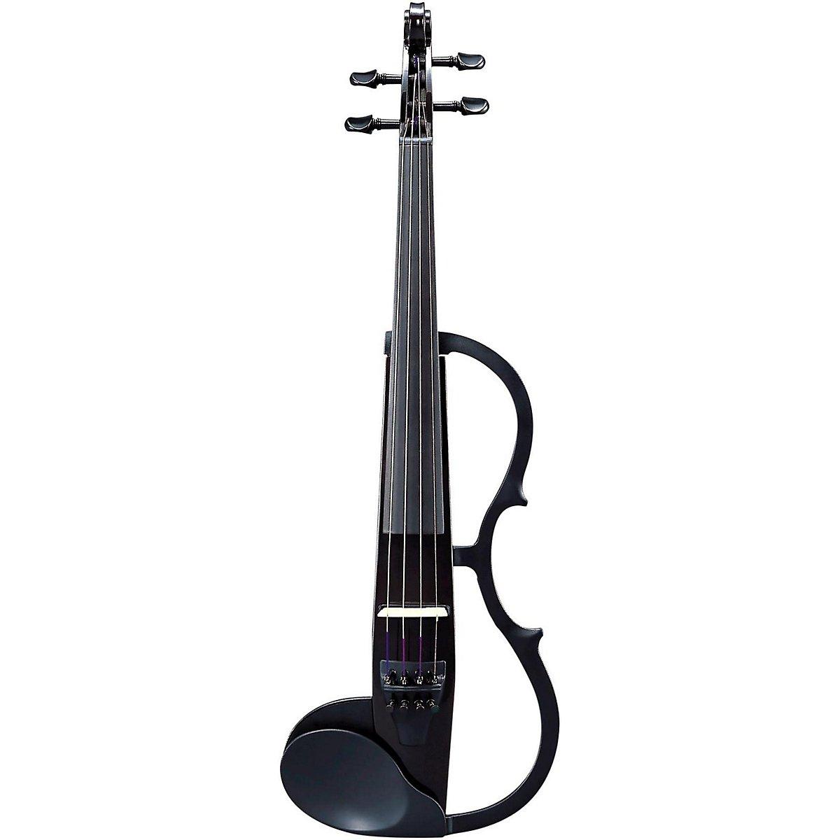 Yamaha Model SV-130SBL 'Concert Select' Silent Violin (4/4 Size, Black)