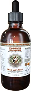 HawaiiPharm Passion Flower Dried Aerial Parts, Veterinary Natural Alcohol-Free Liquid Extract, Pet Herbal Supplement