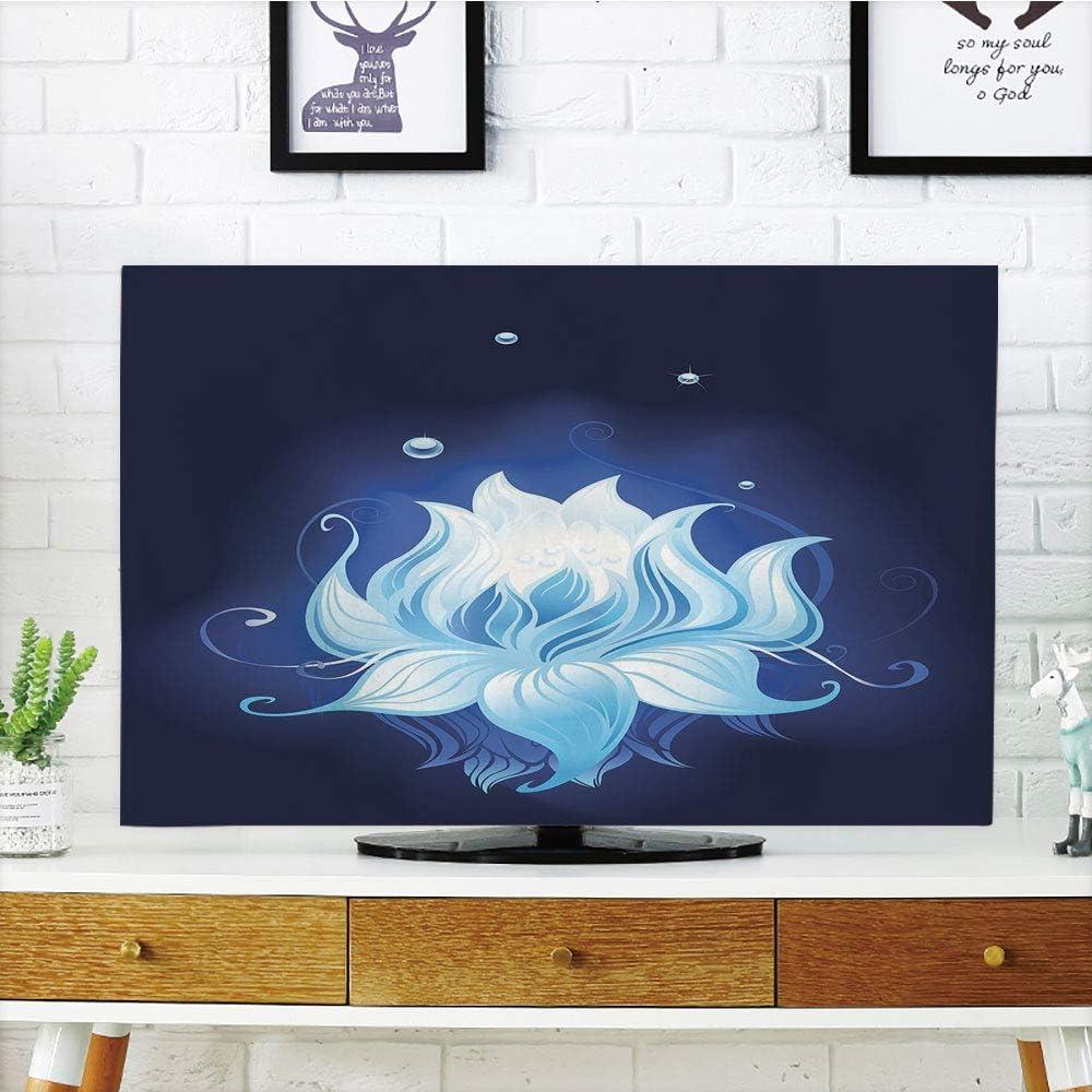 Funda para televisor LCD, diseño geométrico Moderno, pétalos ...