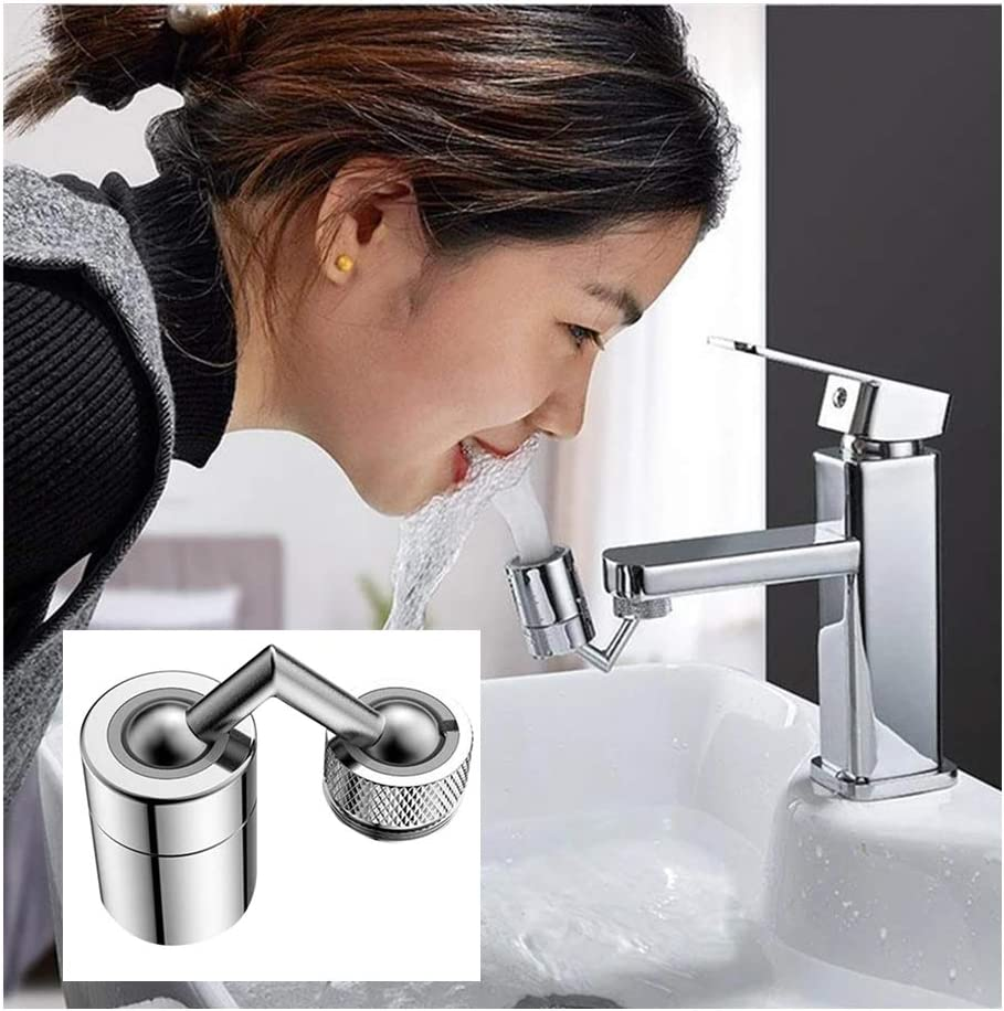 Universal Splash Filter Faucet 720° Rotate Water Outlet Faucet Home CA